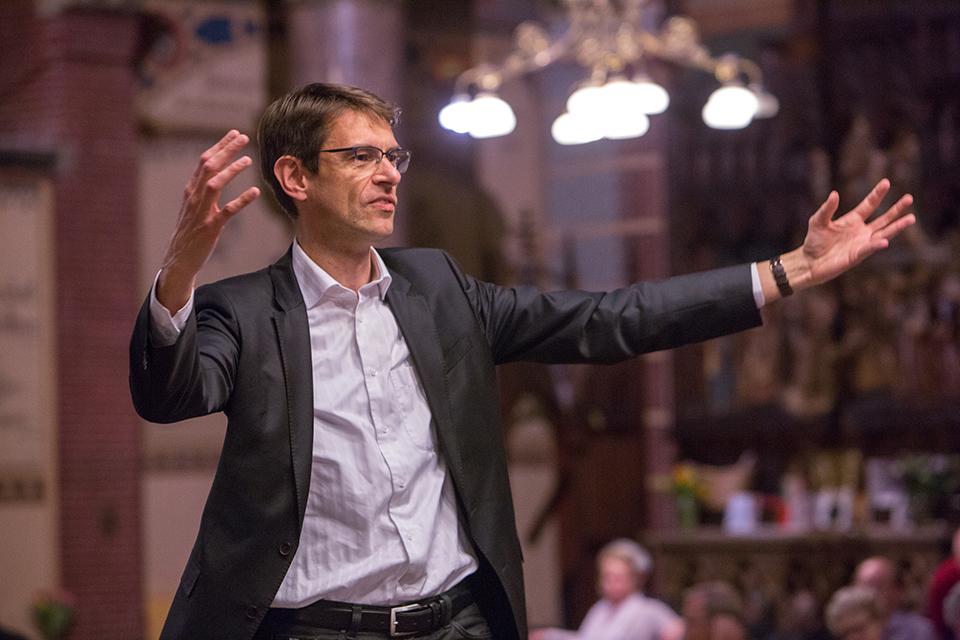 Dirigent Dominicus kerk