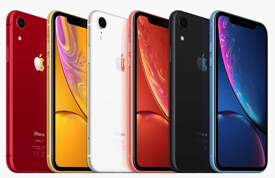 IPhone XR kleuren