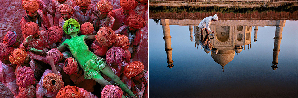 Steve mccurry colors