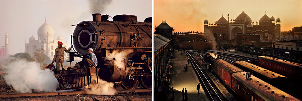 Steve mccurry trains