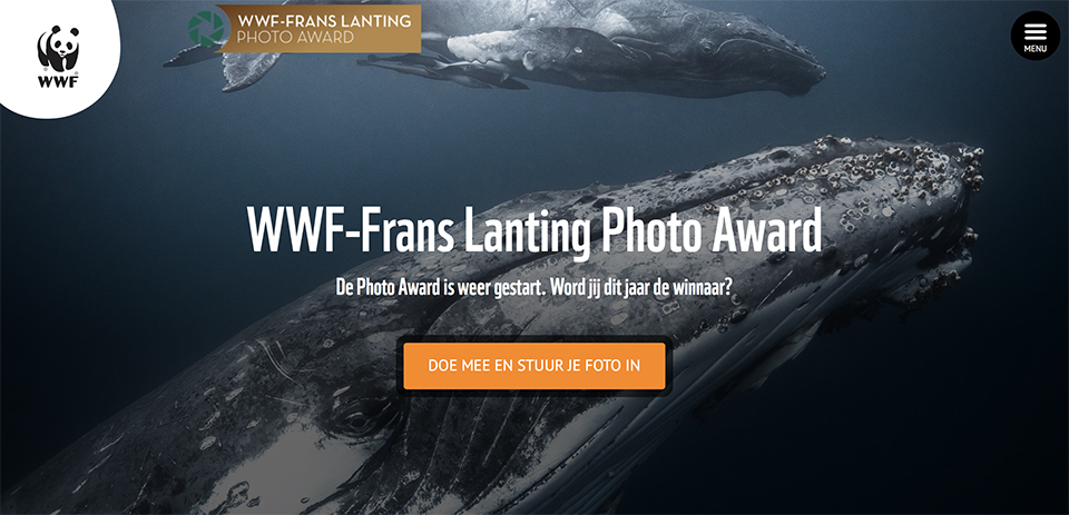 Wwf frans lanting photo award