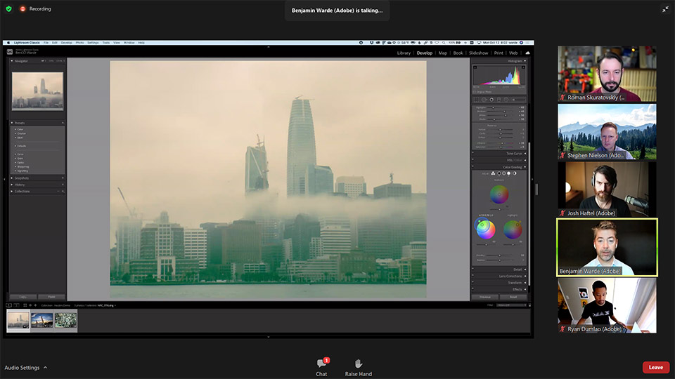 ADOBE MAX screenshots webinar PS 01