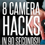 8 camerahacks in 90 seconden