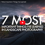 7 lessen over landschapsfotografie