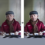 In 3 stappen een Dragan-effect met Lightroom