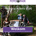 Fotofair 2020 op 26 en 27 september