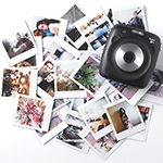 Fujifilm's SQ10 Instax Square camera