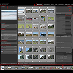 De Lightroom interface in het kort