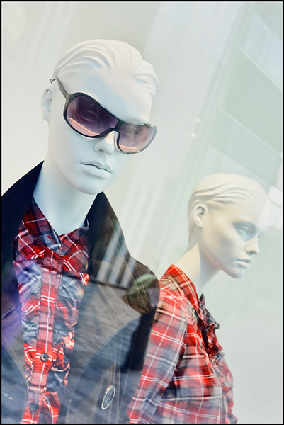 Fashionable dummy's at The Village, Beijing